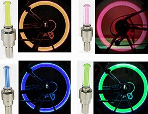 Bike Wheel Lights–Light Up Your Speichen mit LED-farbige Lichter für Sicherheit und Stil–3Stück, rose Ziehen Sie Slot Cars
