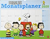 Peanuts Monatsplaner. Wandkalender 2020. Monatskalendarium. Spiralbindung. Format 44 x 34 cm -