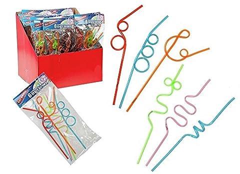 Sport Thèmes Costume Idées - coloré enfants Crazy Curly pailles–Surprise de fête