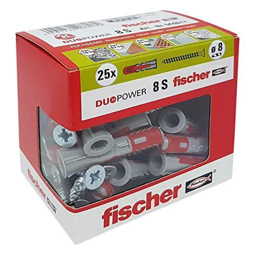 Fischer 544017tacos tornillo Murature llenos, perforadas