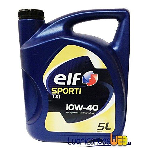Aceite lubricante coche Elf Sporti TXI 10w40