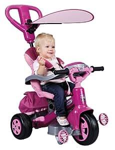 Feber - 800007099 - Vélo et Véhicule pour Enfant - Tricycle Evolutif Baby Twist 360° - Girl