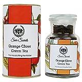 #6: Seer Secrets Orange Clove Green Tea│The mood-lifting Revitalizer (50 GM)