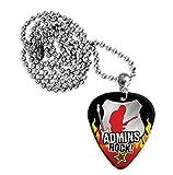 Administrator Admin Assistant Admins Rock Gitarre Plektrum Pick Halskette Necklace (R1)