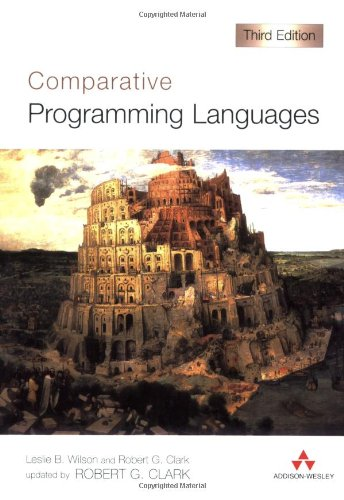 Comparative Programming Languages (International Computer Science Series)