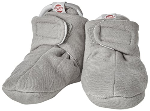 Preisvergleich Produktbild Lodger SLCTH6007048 Baby hausschuhe Baumwolle quilt, 3 - 6 monate, grey