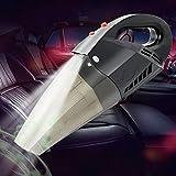 COFIT Auto Aspirapolvere, Aspirapolvere Automatico Portatile con Cavo 4.5m/177.17in con DC12V 120W Forte Aspirazione e Luce a LED per Uso Umido e Secco