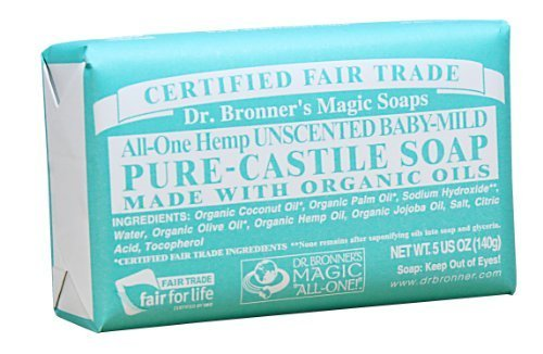 dr-bronner-s-magic-soaps-pure-castile-soap-all-one-unscented-baby-mild-5-ounce-bars-pack-of-6-by-dr-