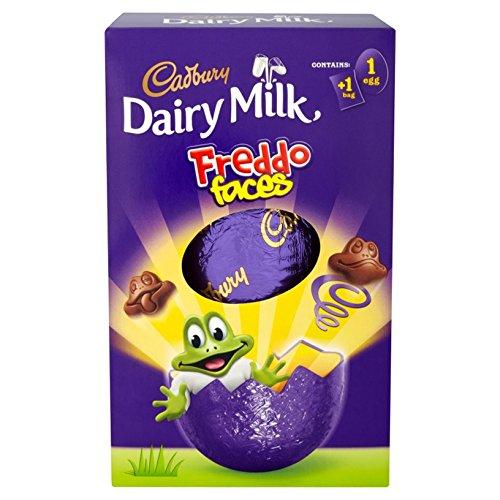 Cadbury Dairy Milk freddo Faces Choo Colate Easter Egg 122G