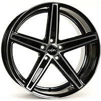 OXIGIN 18 Concave black full polish 7,5x19 ET35 5.00x112.00 Hub Bore 66.60 mm - Alu felgen