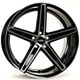 OXIGIN 18 Concave black full polish 7,5x19 ET35 5.00x112.00 Hub Bore 66.60 mm - Alu felgen