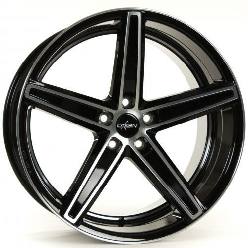 OXIGIN 18 Concave black full polish 7,5x18 ET52 5.00x112.00 Hub Bore 66.60 mm - Alu felgen
