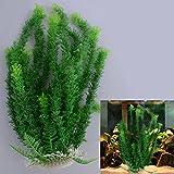 iDealhere 45cm Grün künstliche Aquarium Deko Pflanzen Wasserpflanzen Aquariumpflanzen