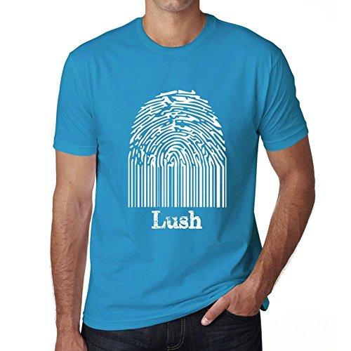 Lush Fingerprint, Tshirt Herren, Tshirt mit Worten, Geschenke Tshirt