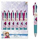 BG Stylo Bille 4 Couleurs Reine des NEIGES Frozen Disney 14 CM Papeterie Scolaire