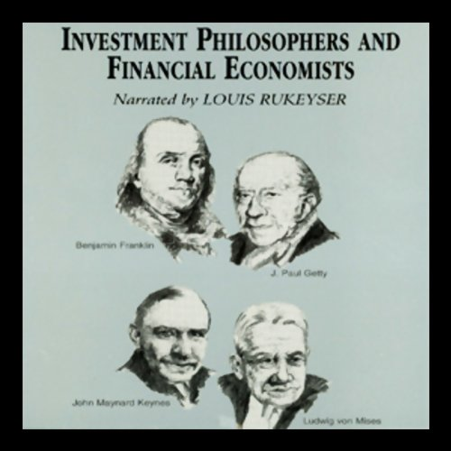 Investment Philosophers and Financial Economists  Audiolibri