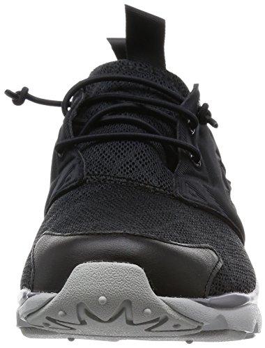 Reebok Furylite Tm, Low-Top Chaussures homme Multicolore (Negro / Gris / Blanco (Black / Shark / Steel))