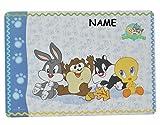 Unterlage - Baby Looney Tunes Tweety und Freunde - 43 cm * 29 cm Incl. Namen -..