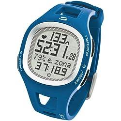 Sigma Heart Rate Monitor Reloj Pulsómetro PC 10.11 Azul, Incluye Banda torácica, señal analógica, Unisex_Adulto