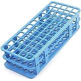 Herramienta Lab DealMux plástico azul 60 Posición 18 mm dispositivo de prueba orificio del tubo de soporte