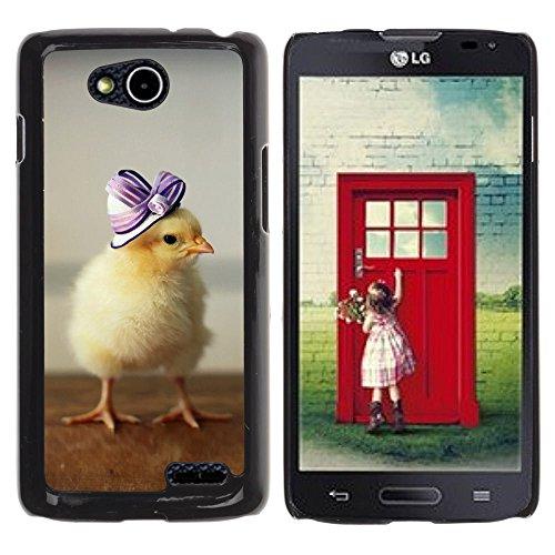 DREAMCASE Hart Handy SchutzHülle Hülle Schale Case Cover Etui für LG OPTIMUS L90 D415 - Cute Baby Duckling