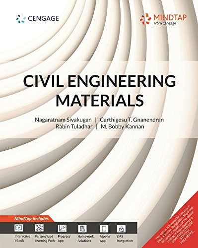Civil Engineering Materials with MindTap
