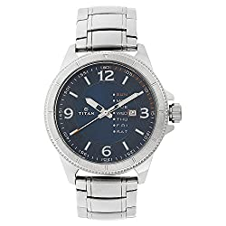 TITAN ANALOG WATCH FOR MENS 1701SM01