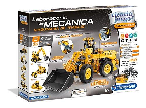 Ciencia y Juego Technologic Laboratorio de mecánica, maquinaria de Trabajo (Clementoni 55192.7)