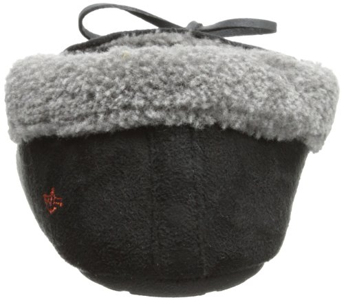 Dockers Ryan Aviator Moccasin with Warm Plush-Sherpa Style Collar Black