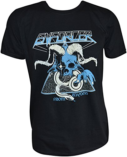 Enforcer From Beyond Black T-Shirt Schwarz
