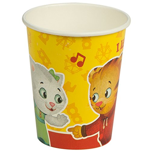 Daniel tiger party supplies - 9 oz. paper cups by birthdayexpress