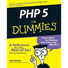 PHP 5 For Dummies by Valade, Janet (2004) Paperback