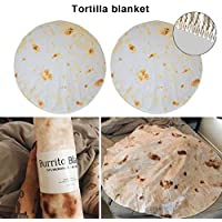 Tortilla Blanket burrito Beach towel mat wrap Picnic Blanket Small Carpet rug Throw For Office Home Living Room Bedroom Camping Picnic Outdoor