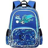 Zaino Scuola Elementare Ragazzo Zaini Dinosauri Borsa Backpack Zainetto Zaino Bambino Elementari Zainetti per Bambini Ragazzo Blu