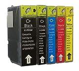 5 TINTENPATRONEN MIT CHIP für Canon mit FREIE FARBAUSWAHL Pixma IP3300 IP3500 IP4200 IP4200IP4300 IP4500 IP5200 IP5200 IP5300 IP6600 IP6700D MP500 MP510 MP520 MP530 MP610 MP800 MP810 MP830 MP970 IX4000 IX5000 MX700 MX850 Pro9000 PGI5 CLI8