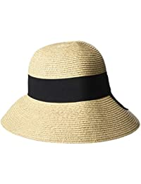 6149997e5221ce Ladies Summer Sun Hats Women Panama Straw Beach Hats Foldable Wide Brim  Floppy Fedora - UPF