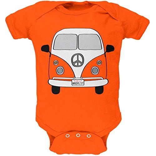 Old Glory Halloween Reisen Bus Kostüm Camper Fernweh Weiches Baby EIN Stück Orange 24 Monate