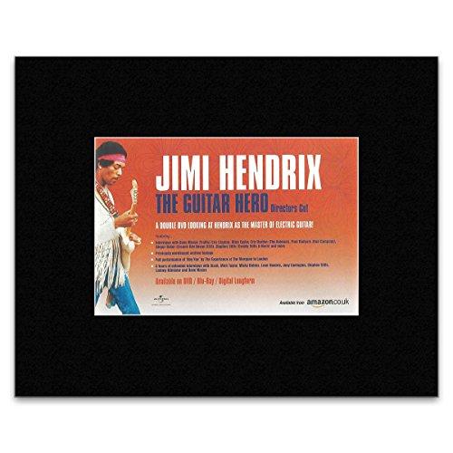 Stick It On Your Wall Mini-Poster Jimi Hendrix - The Guitar Hero - 14 x 21 cm