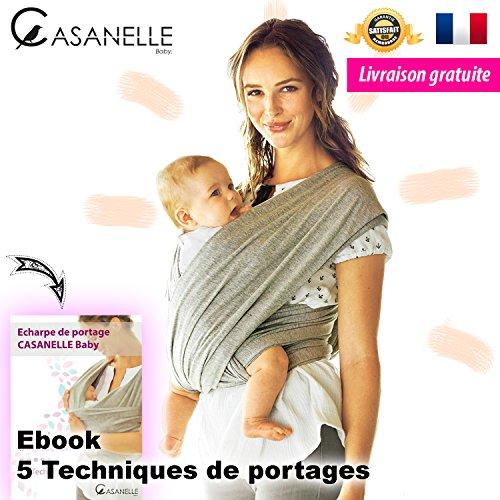 Écharpe de portage bébé CASANELLE Baby ☆ OFFERT 5 Techniques de ... 1c244de17ec