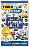 emoji - Das große Stickerbuch: Mit supercoolen Szenen aus dem Film, 6 Stickerseiten und 10 megastarken Sticker-Designseiten