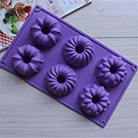 HYSF Purple Cartoon Popsicle Silicone Ice Cream Mold