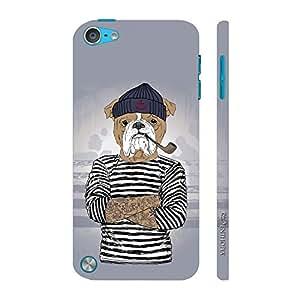 Enthopia Designer Hardshell Case Sea Mutt Back Cover for Apple Ipod Touch 5