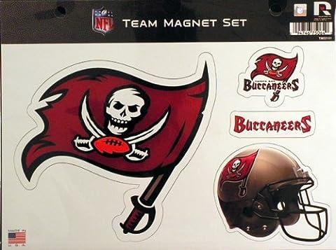 NFL Tampa Bay Buccaneers NFL Team Magnet Sheet, Red, 11