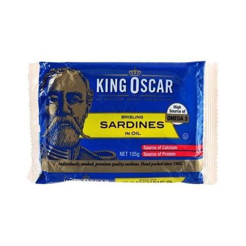 Knig Oscar Sardinen In Sojal 105gm