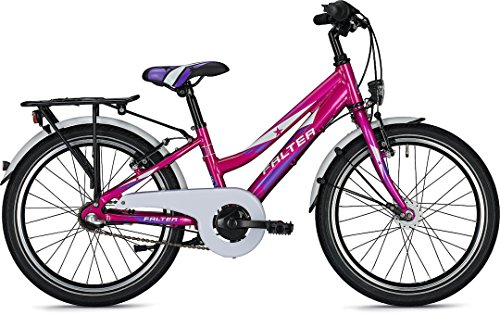 Kinder-/Jugendrad Falter FX 203 ND Trave 20' Rh 28cm 3G Rücktritt , Farben:Pink Metallic-Glanz