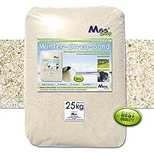 Streusand salzfrei umweltfreundliche Winterstreu Alternative zu Streusalz (2-4 mm / groß)