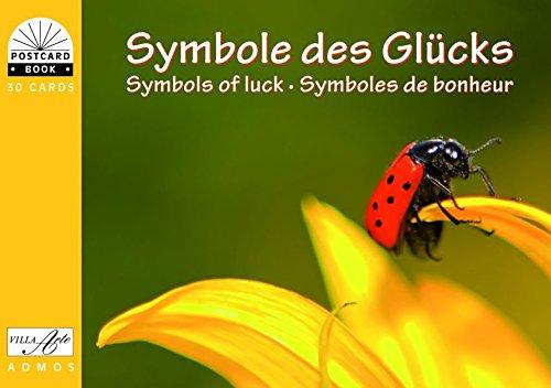 Symbole des Glücks / Symbols of luck / Symboles de bonheur: Postkartenbuch
