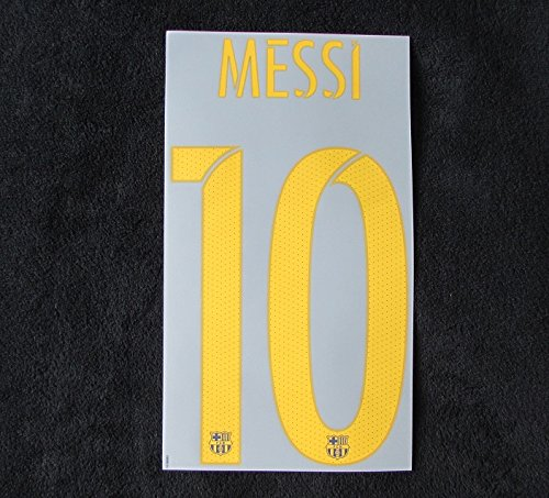 Nike Original 2015-2016 Barcelona FC Leo Messi Flock Home Trikot