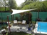 Coolaroo Sonnensegel Dreieck 5x5x5 WEISS
