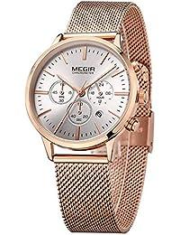 21c431fdcac WZFCSAEAE Mujeres Relojes Marca Moda Deporte Damas Amantes Reloj Reloj  Relogio Feminino para Mujer Relojes de